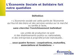 chambre de l 馗onomie sociale et solidaire l économie sociale et solidaire ppt télécharger
