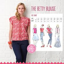 blouse sewing patterns the betty blouse simply sewing magazine