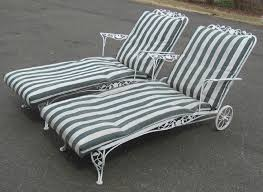 Wrought Iron Patio Chaise Lounge Distinctive Vintage Wrought Iron Chaise Lounge 66 Towards Elegant
