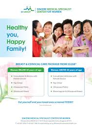 Healthy Care Packages Breast And Cervical Care Packages Sincere Health Group