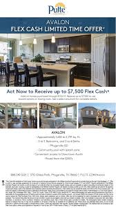 Pulte Homes For Sale In Atlanta Ga Mallory Plan At Avalon In Pflugerville Texas By Pulte Homes
