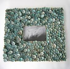 nautical home decor beach decor seashell wall frame nautical