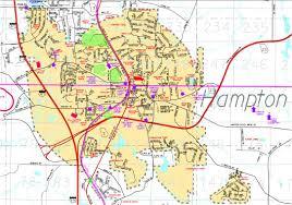 City Of Atlanta Zoning Map by City Maps Hampton Ga