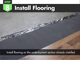 how to install silver vapor 3 in 1 flooring underlayment