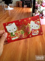 hello new year envelopes sanrio makes the cutest envelopes for lunar new year