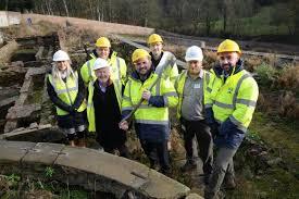 work begins on historic bishop auckland walled garden the