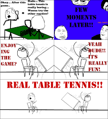 Meme Throw Table - real table tennis rage comic by albowtross91 on deviantart