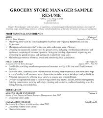 retail sales manager resume experience retail department manager resume