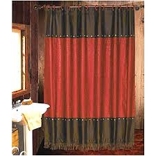 Western Style Shower Curtains Western Themed Curtains Alpals Info