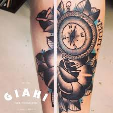 compass tattoo under breast grey roses compass tattoo by elda bernardes best tattoo ideas gallery