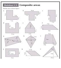 area of composite figures lesson 9 3 answer sheet 28 images