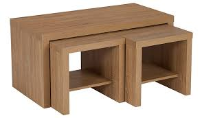 Coffee Table Set George Home Leighton Coffee Table Set White Home U0026 Garden