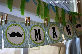 man mustache baby shower events to celebrate