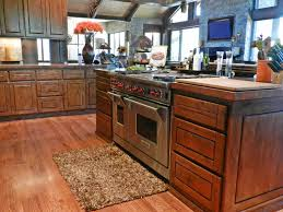 rustic kitchen with raised panel hardwood floors in payson az