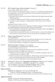 Summary Examples For Resume by Resume Executive Financial Technology Susan Ireland Resumes