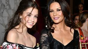 catherine zeta jones meet catherine zeta jones s doppelgänger daughter carys zeta douglas