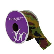 camouflage ribbon 1 5 grosgrain camouflage ribbon by celebrate it 360