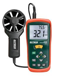 extech an100 cfm cmm mini thermo anemometer measuring gauges