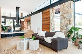 design house furniture victoria house in stone glass and steel overlooking the yarra river