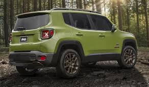 new jeep renegade green 2016 jeep renegade 75th anniversary edition news and information