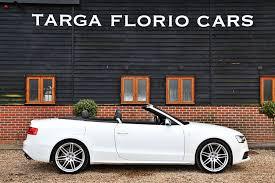 audi s5 convertible white audi s5 cabriolet 3 0 v6t quattro s tronic at targa florio cars in