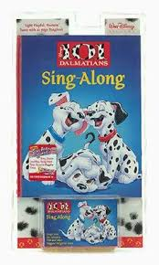 101 dalmations sing long book walt disney productions