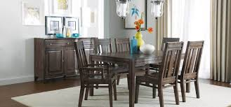 6 Seater Wooden Dining Table Design With Glass Top Montreat Collection By Kincaid Furniture Nc
