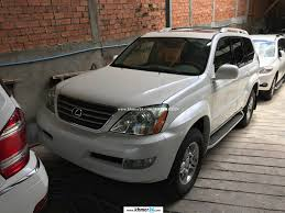 lexus gx470 pictures lexus gx 470 2004 white pearl full option new arrival in phnom