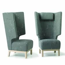 High Backed Armchairs Boom Armchair Winged High Back Armchairs Apres Furniture
