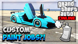 gta 5 paint jobs new create u0026 share modded crew colors feature