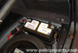 mercedes benz w211 battery removal 2003 2009 e320 e500 e55