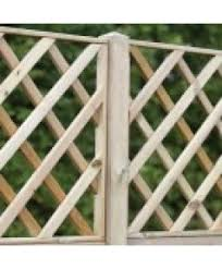 Wooden Trellis Panels Fencing From Bond Timber