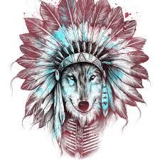image wolf with headdress jpg jam clans wiki fandom