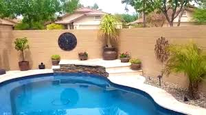 furniture agreeable small yard pool project huge transformation