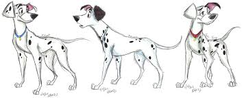 101 dalmatians grown pups 1 stray sketches deviantart