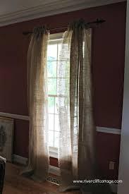 Curtains Decorations Burlap Drapes And Curtains Sofa Cope