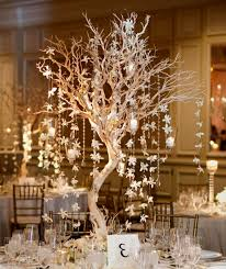 wedding table centerpieces winter decorating of
