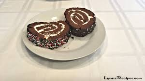 chocolate cake roll christmas lynn u0027s recipes youtube