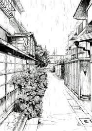 truly awesome penandink architecture compilation drawing by