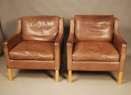 Danish Leather Armchair Sold Pair Of Stouby Leather Armchairs 28d140 Danish Vintage Modern