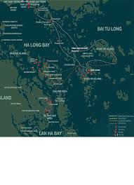 Coast Starlight Route Map by Calypso Halong Bay Cruising Maps 2 Days Cruise Map 3 Days Cruise Map