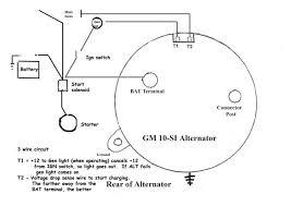typical gm alternator wiring diagram gmc schematics and wiring