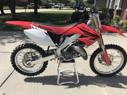 125cc motocross bikes for sale cheap 2006 cr 125 build finished and for sale bike builds motocross