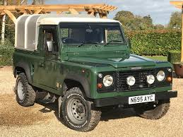 1997 land rover defender 90 land rover defender 90 2 5tdi pickup with ifor williams hardtop