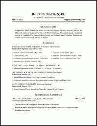 resume samples for graduate students graduate admissions