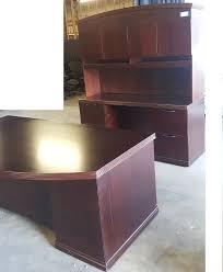 Left Handed Desk Used Desks U0026 Casegoods Office Furniture Common Sense Orlando