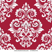 free damask vector pattern 2 free vector stock