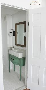 how to remodel a narrow half bathroom diy ideas pinterest