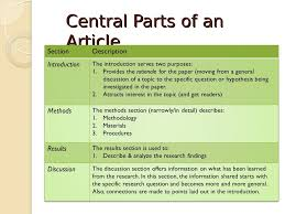 writing a methods section for a research paper writing research articles imrd format overview 3 central parts of an article