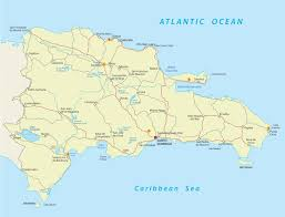 Map Of The Caribbean Sea by Dominican Republic Maps